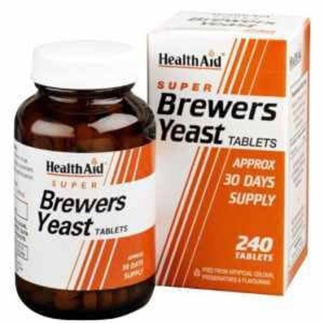 Health Aid Brewers Yeast  Μαγιά Μπύρας 300mg,