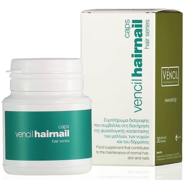Vencil Hairnail Συμπλήρωμα Διατροφής για Μαλλιά, Δέρμα, Νύχια 30 Caps