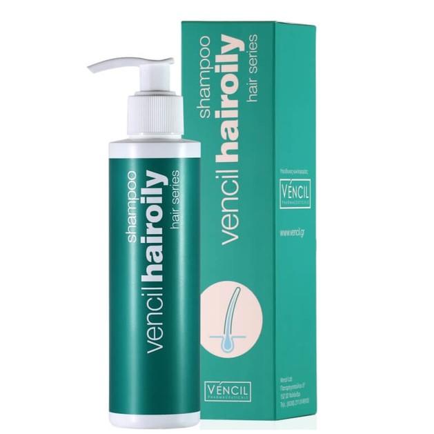 Vencil Hair Oily Shampoo για Λιπαρά Μαλλιά & για την Αντιμετώπιση της Σμηγματορροϊκής Δερματίτιδας 170ml
