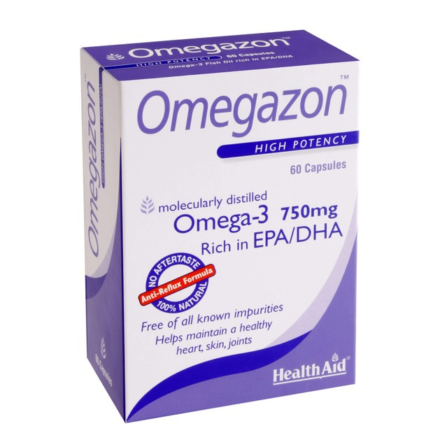 Health Aid Omegazon 750mg 60caps
