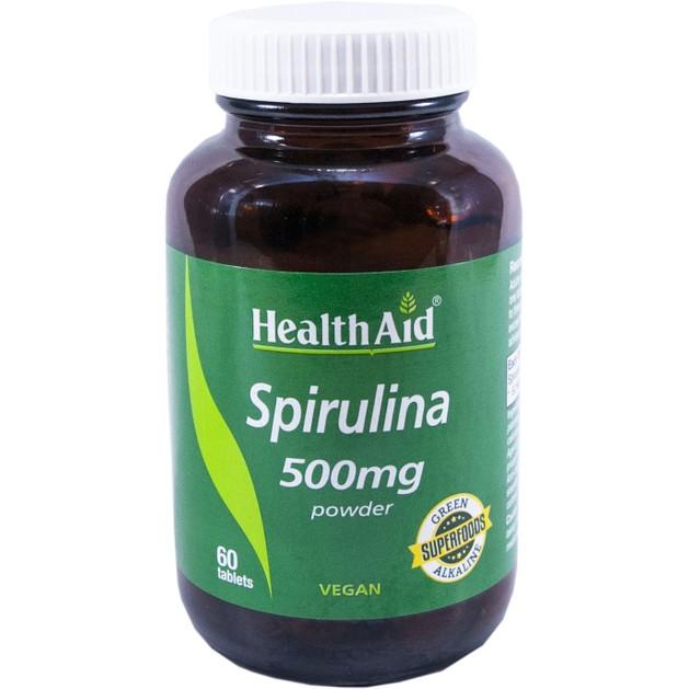 Health Aid Spirulina 500mg 60tabs