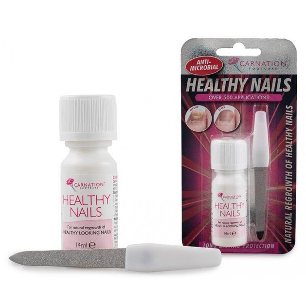 Vican Carnation Healthy Nails14ml + 1 Λίμα