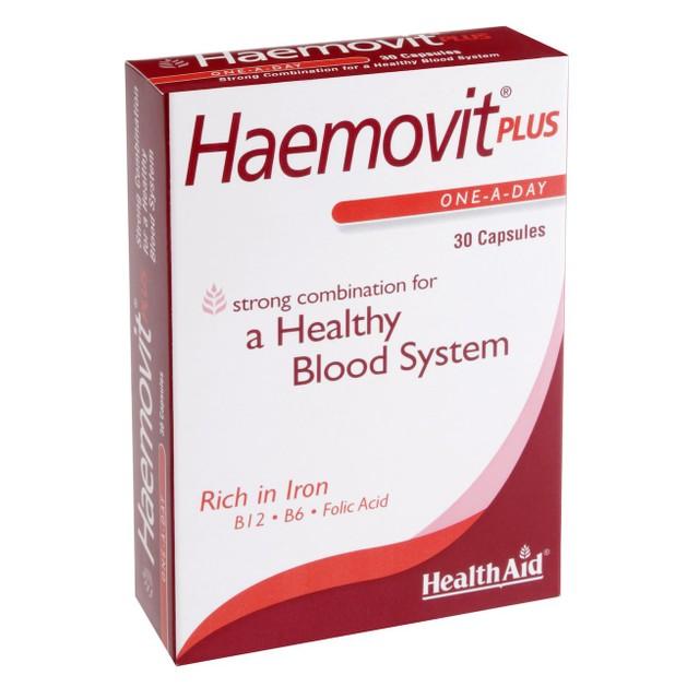 Health Aid Haemovit Plus 30caps