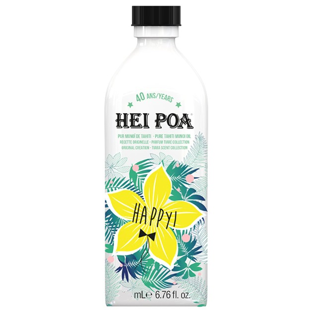 Hei Poa Happy Monoi Oil Tiare Limited Edition 100ml