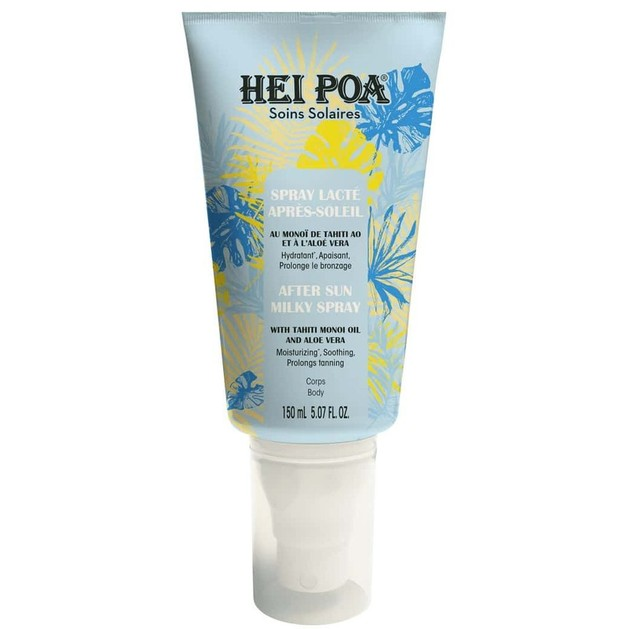 Hei Poa Soins Solaires After Sun Milky Spray με Tahiti Monoi Oil & Aloe Vera 150ml