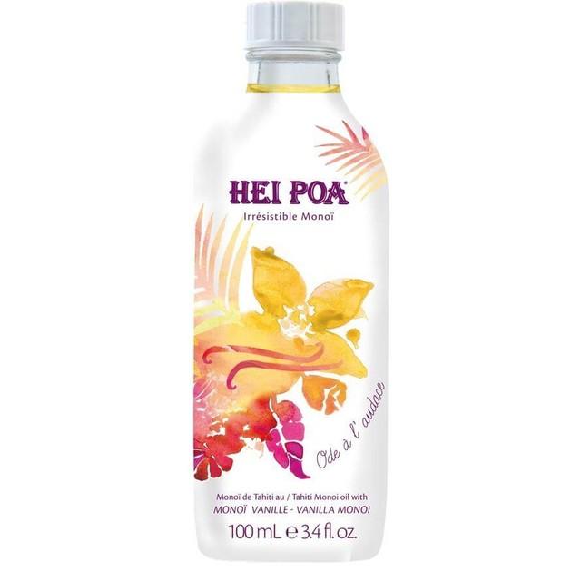 Hei Poa Vanilla Monoi Oil – Ode A L'Odace - Ενυδατικό Λάδι με Εκχύλισμα Βανίλιας Τριαντάφυλλου και Patchouli 100ml