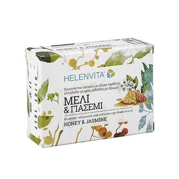 Δώρο Helenvita Honey & Jasmine Soap Χειροποίητο Σαπούνι με Γλυκό Άρωμα Μέλι & Γιασεμί 90gr