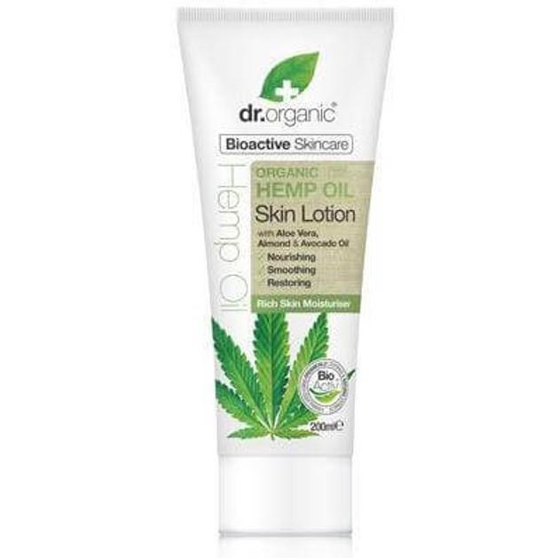 Dr. Organic Hemp Oil Skin Lotion Ενυδατική Κρέμα Σώματος που Θρέφει & Αναζοωγονεί την Επιδερμίδα 200ml