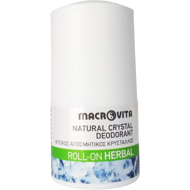 Macrovita Natural Crystal Deodorant Roll-On 50ml