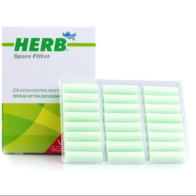 Vican Herb Cigarette Filters 24τμχ