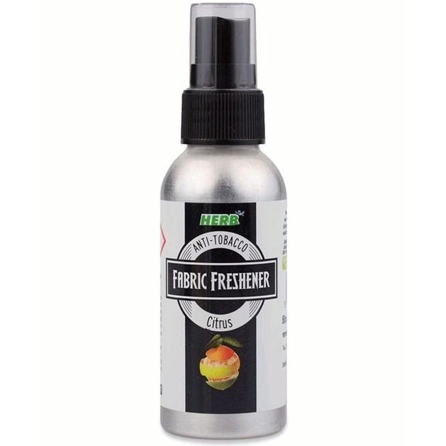 Vican Herb Air Freshener Citrus Αποσμητικό Χώρου που Εξουδετερώνει την Οσμή του Τσιγάρου με Άρωμα Κίτρο, 75ml