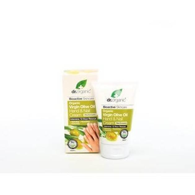 Dr.Organic Organic Virgin Olive Oil Hand & Nail Cream 125ml