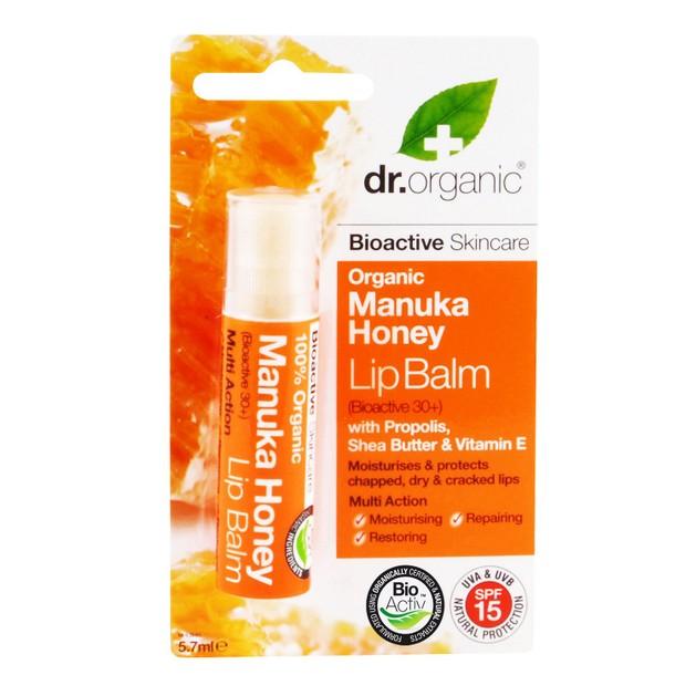Dr.Organic Organic Manuka Honey Lip Balm 5.7ml
