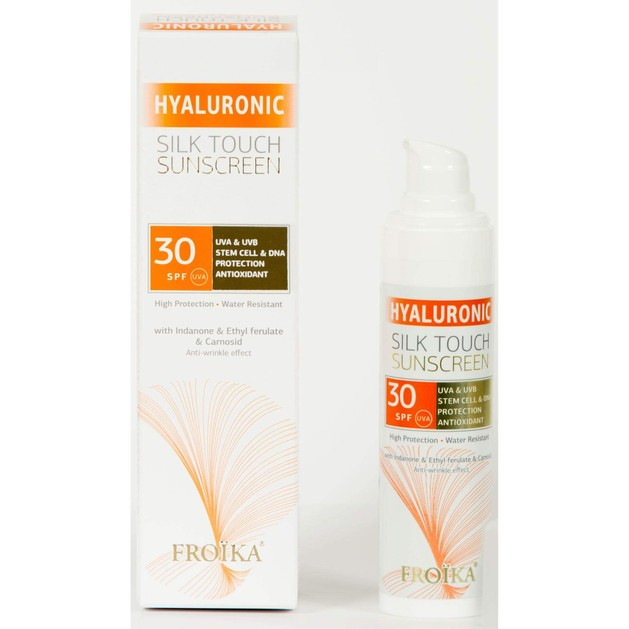 Froika Hyaluronic Silk Touch Suncare Cream Spf30, 40ml
