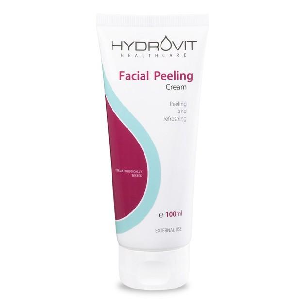 Hydrovit Facial Peeling Cream Φροντίδα Προσώπου Διπλής Δράσης για Απολέπιση & Αναζωογόνηση της Επιδερμίδας 100ml