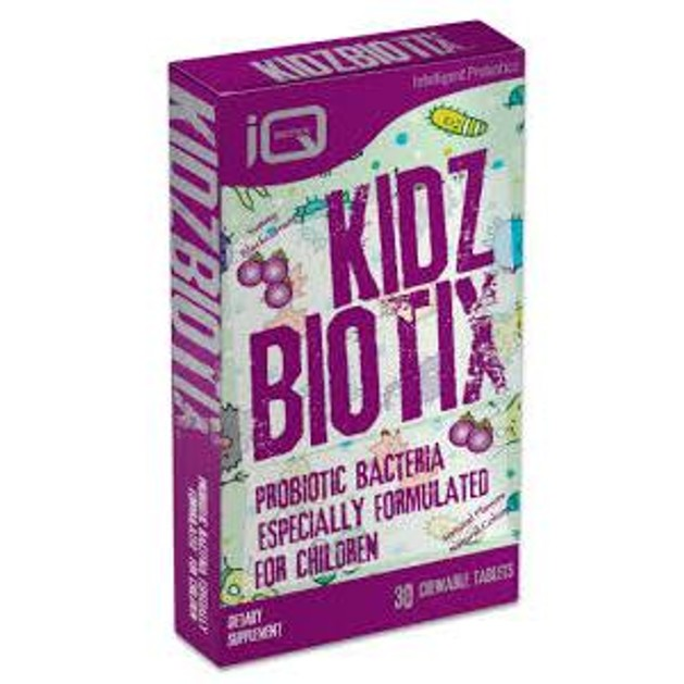 Quest Kidzbiotix Μοναδικός Συνδυασμός 4 Προβιοτικών Για Παιδιά 30caps
