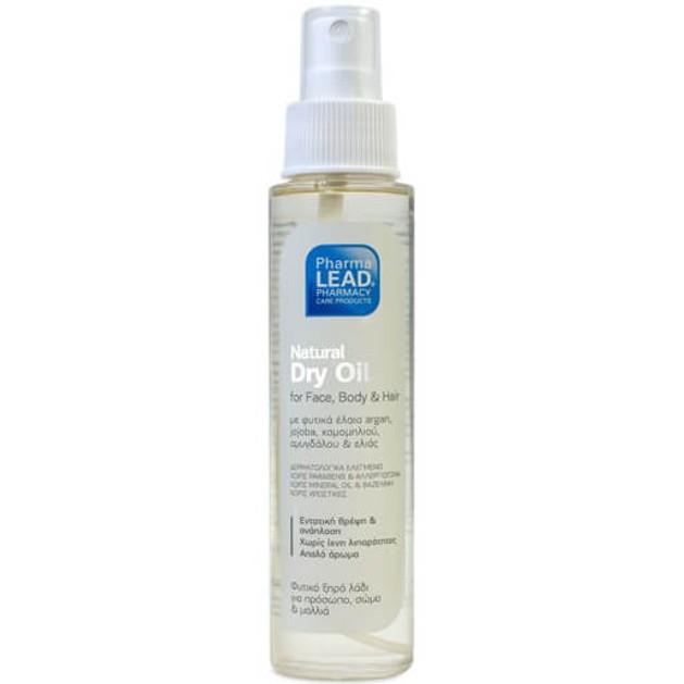 Δώρο Pharmalead Natural Dry Oil Φυτικό Ξηρό Λάδι Ενυδάτωσης για Πρόσωπο, Σώμα, Μαλλιά 100ml