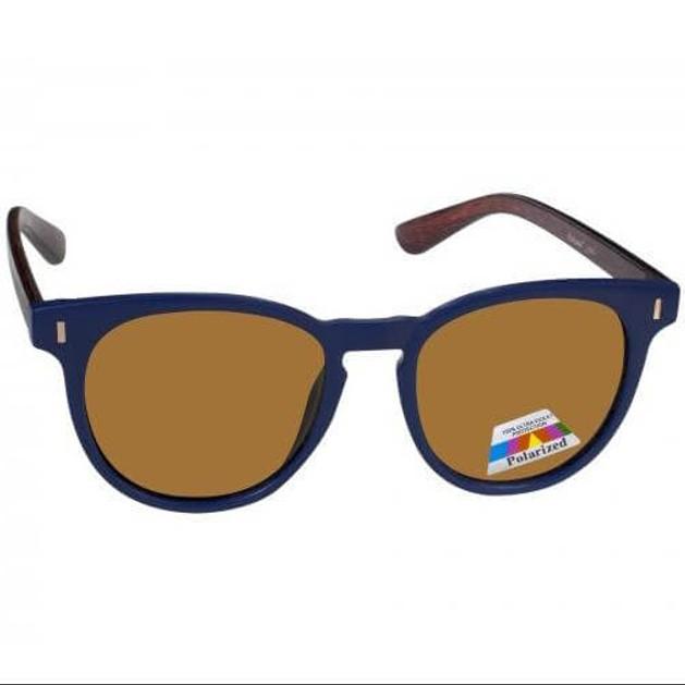 Eyelead Γυαλιά Ηλίου Unisex με Μπλε - Καφέ Σκελετό L640
