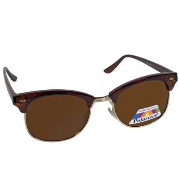 Eyelead Γυαλιά Ηλίου Unisex με Καφέ Σκελετό L632