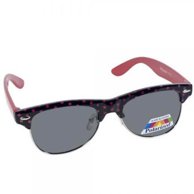 Eyelead Γυαλιά Ηλίου Παιδικά με Μαύρο - Ροζ Σκελετό Κ1032