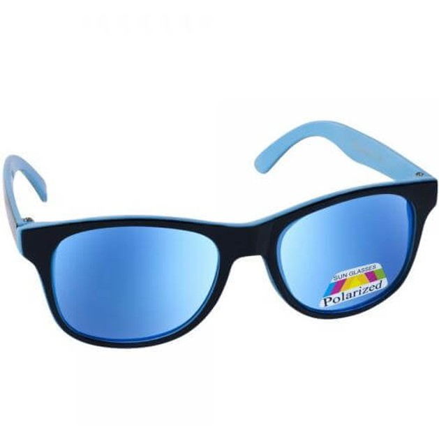Eyelead Γυαλιά Ηλίου Παιδικά με Μαύρο - Γαλάζιο Σκελετό Κ1029