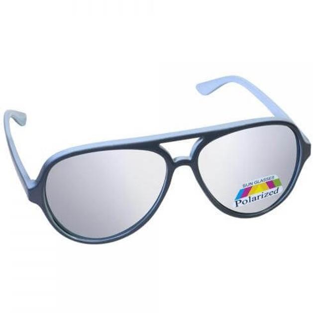 Eyelead Γυαλιά Ηλίου Παιδικά με Γκρι - Γαλάζιο Σκελετό Κ1025