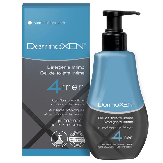 Dermoxen Intimate Cleanser 4Men Καθαριστικό για την Ευαίσθητη Περιοχή Για Άντρες 125ml