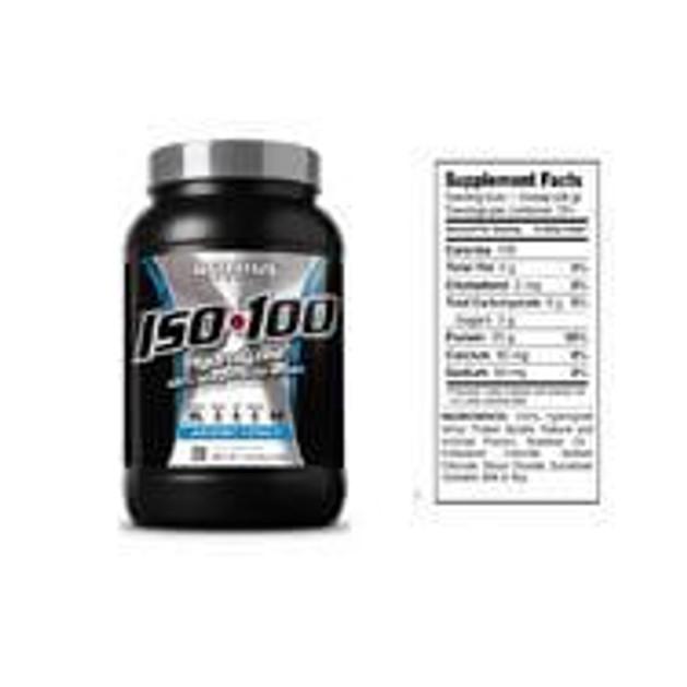 Dymatize Iso-100 Whey Protein Απομονωμένη Υδρολυμένη Πρωτεΐνη Ορού Γάλακτος 726gr