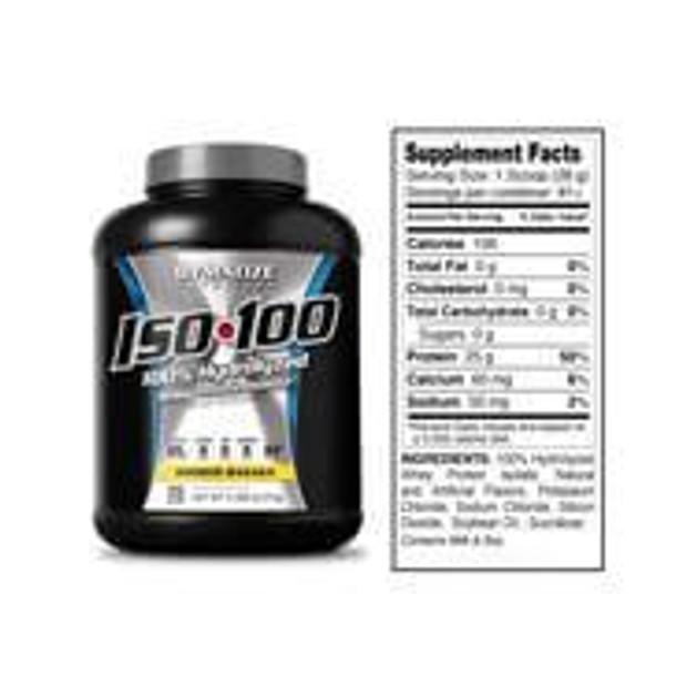Dymatize Iso-100 Whey Protein Υδρολυμένη Απομονωμένη Πρωτεΐνη Υψηλής Ποιότητας 2275gr