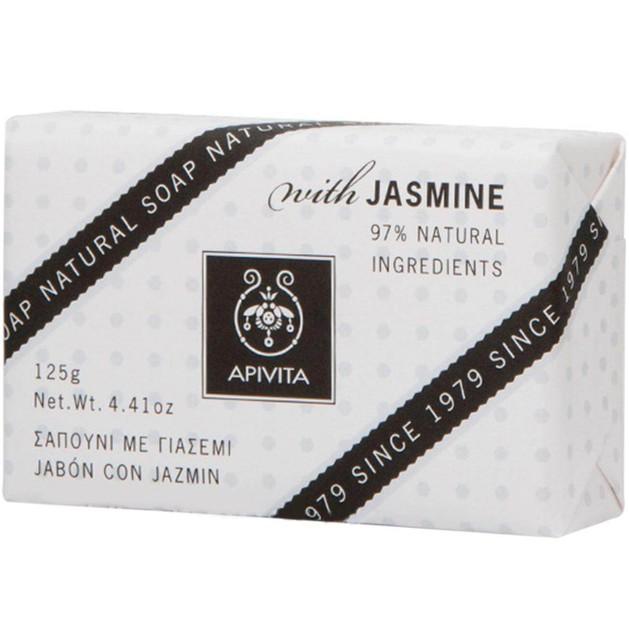 Natural Soap With Jasmine 125g - Apivita