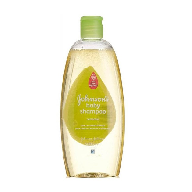 Johnson\'s Baby Shampoo Σαμπουάν με Χαμομήλι που Διατηρεί το Ανοιχτό Χρώμα και τη Λάμψη των Ξανθών Μαλλιών 500ml