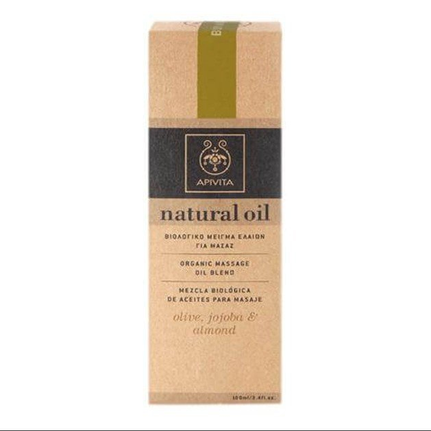 Apivita Natural Oil Blend With Olive, Jojoba & Almont 100ml