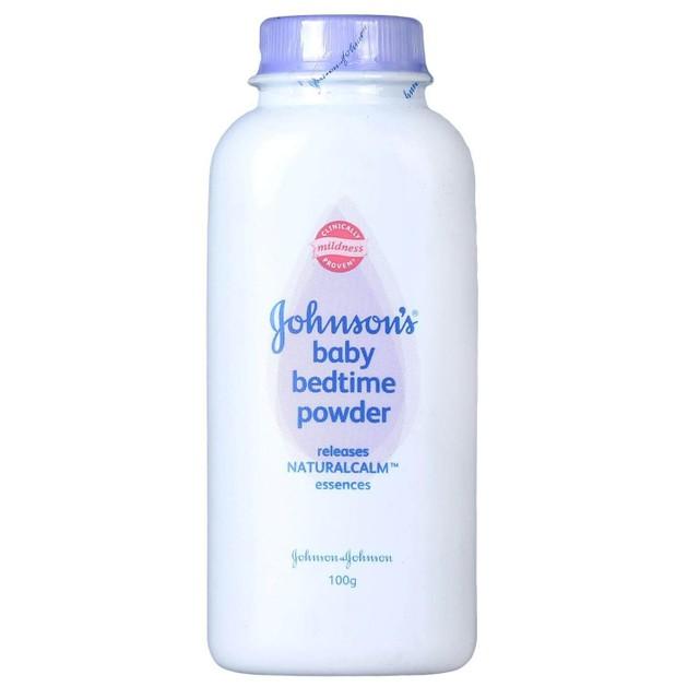 Johnson\'s Baby Bedtime Powder Πούδρα Με Αρώματα Naturalcalm 100gr