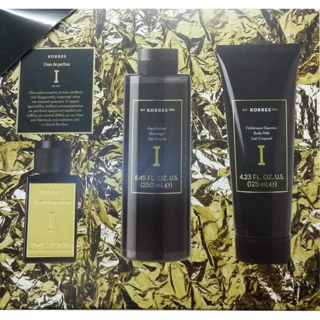 Πακέτο Προσφορά Premium Eau De Parfum I 50ml & Δώρο Showergel 250ml & Body Milk125ml - Korres