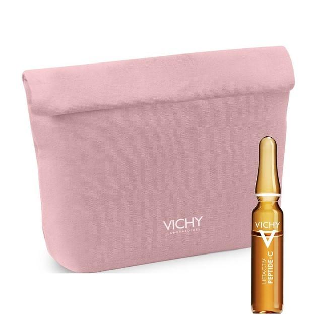 Δώρο Vichy Liftactiv Specialist Peptide-C Anti-Ageing Αμπούλα 1,8ml & Vichy Pouch Pink Ροζ Νεσεσέρ