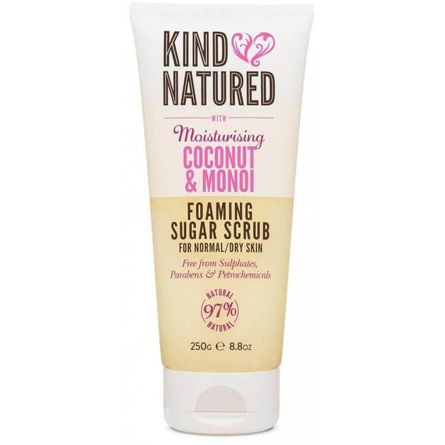 Kind Natured Moisturising Coconut & Monoi Foaming Sugar Scrub Πίλινγκ Σώματος για Κανονικές και Ξηρές Επιδερμίδες 250gr