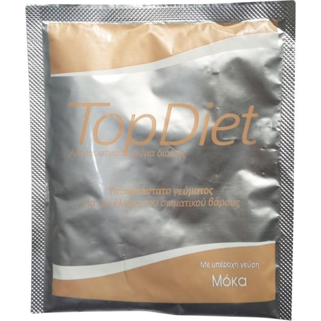 Δώρο Power Health Top Diet Moca Υποκατάστατο Γεύματος για τον Έλεγχο του Σωματικού Βάρους με Γεύση Μόκα 1sachet x 35gr