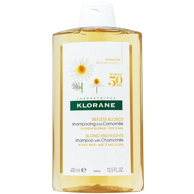 Klorane Blond Highlights Shampoo with Chamomile Σαμπουάν με Εκχύλισμα Χαμομηλιού για Ξανθές Ανταύγειες 400ml Promo -25%