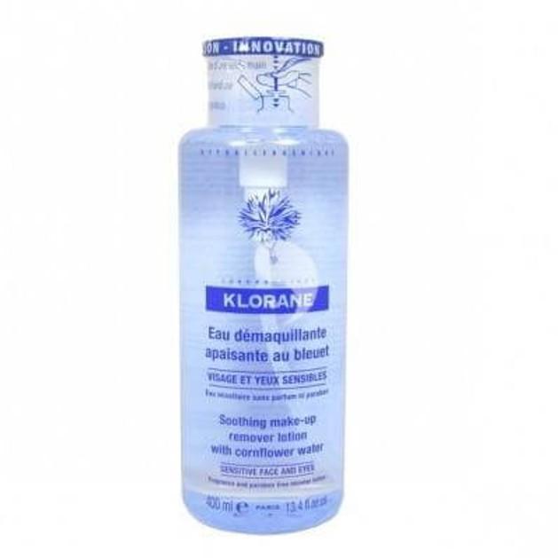 eau Demaquillante Apassaint au Bleueut 400ml - Klorane