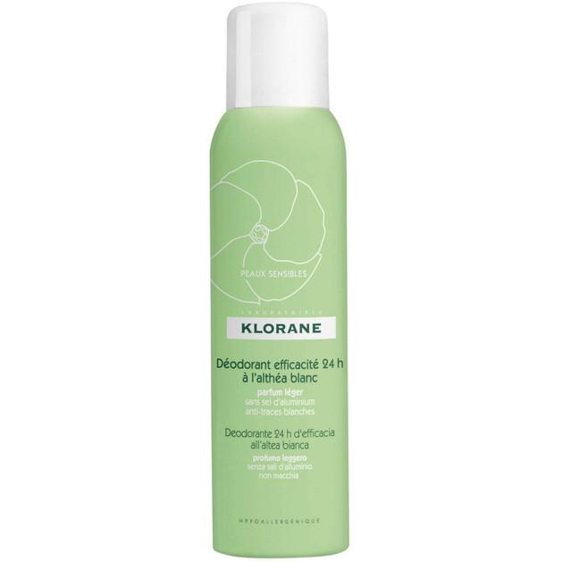 Klorane Deodorant Efficacite 24h a l\'Althea Blanc 125ml