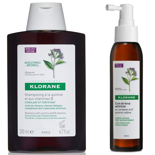 Klorane Πακέτο Προσφοράς Cure de Force Antichute 125ml & Shampooing a la Quinine 200ml