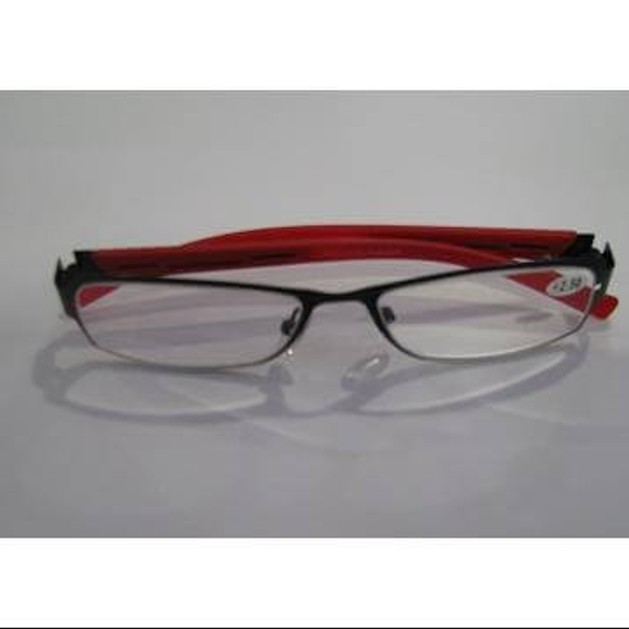 Eyelead Γυναικεία Γυαλιά Διαβάσματος Κοκκινο Μαύρο Κοκκάλινο E120