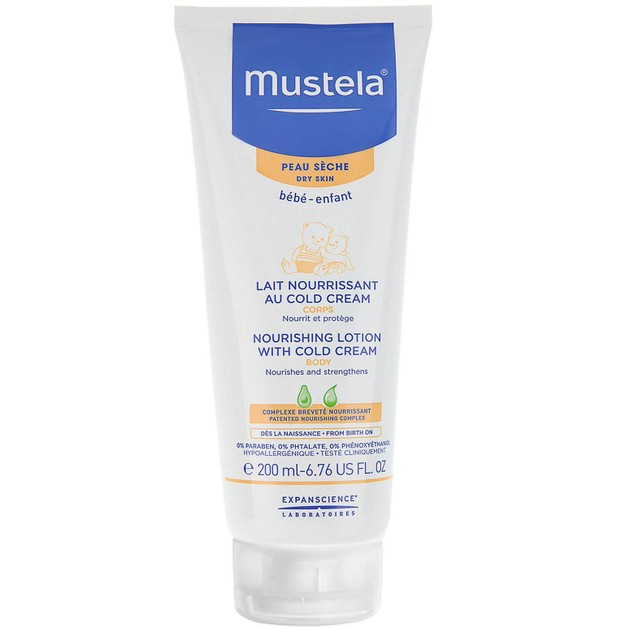 Mustela Nourishing Lotion With Cold Cream Βρεφικό-Παιδικό Γαλάκτωμα Σώματος για Ξηρό Δέρμα 200ml
