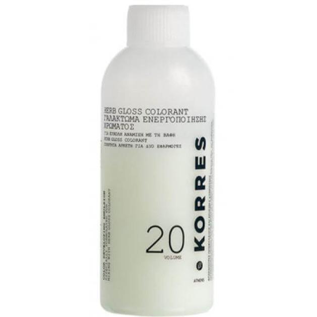 Korres Herb Gloss Color Ενεργοποιητής Developer 120ml