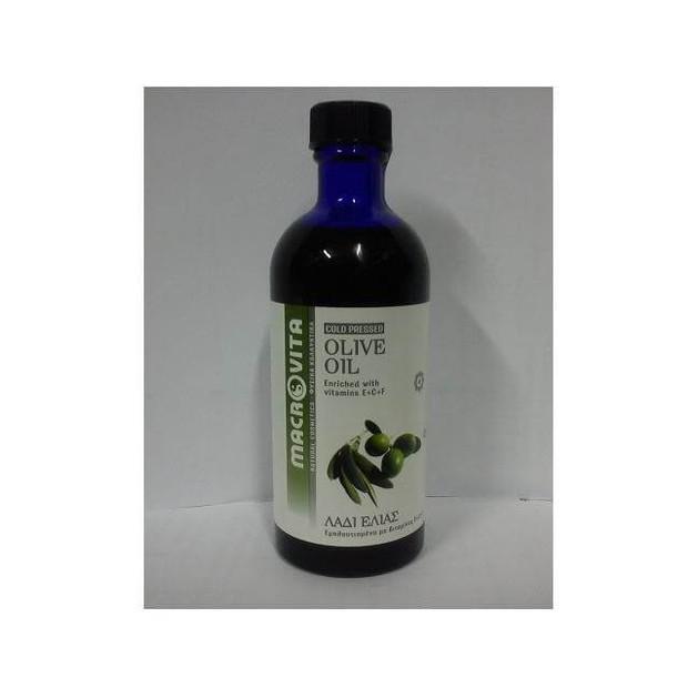 Macrovita Olive Oil with Vitamins E + C + F 100ml