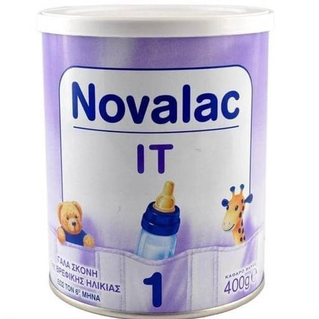 Novalac IT No 1 Γάλα Σε Σκόνη Από Τη Γέννηση Κατάλληλο Για Την Αντιμετώπιση Της Δυσκοιλιότητας 400gr