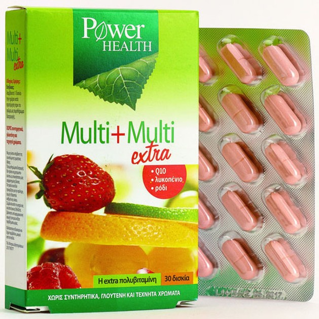 Power Health  Multi-Multi extra 30tabs