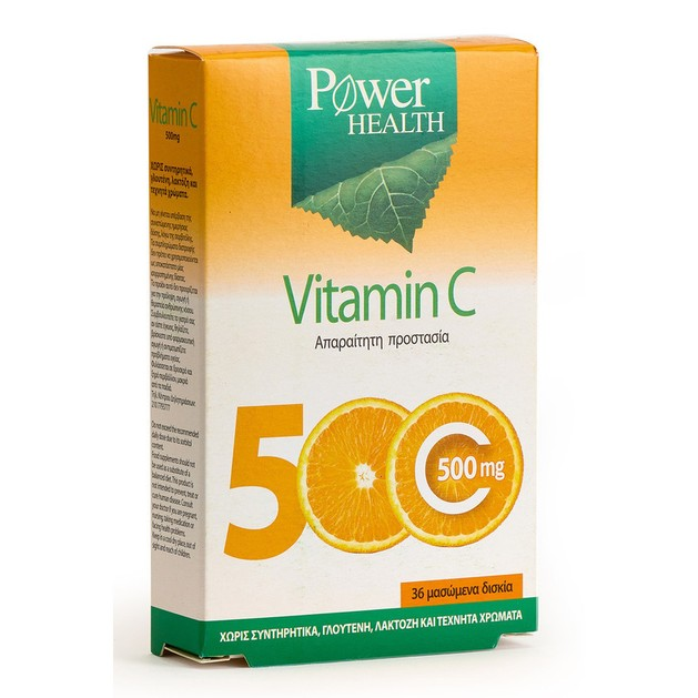 Power Health Vitamin C 500mg 36 Chewable tabs