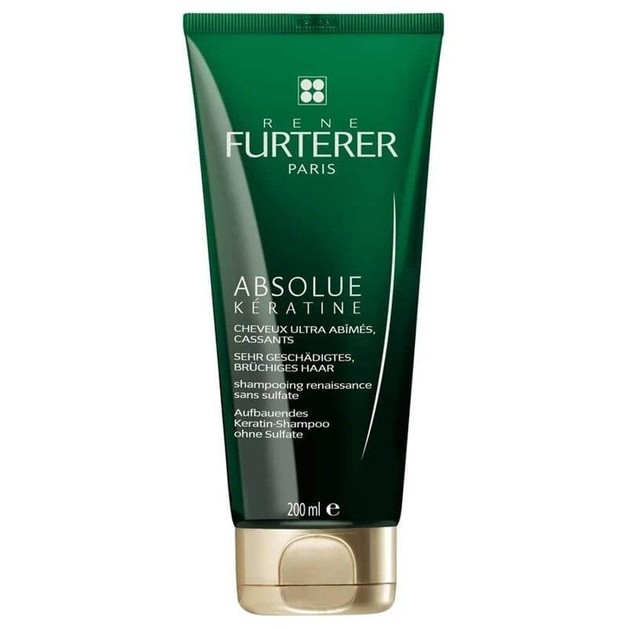 Rene Furterer Absolue Keratine Σαμπουάν Αναγέννησης για Πολύ Κατεστραμμένα Εύθραυστα Μαλλιά 200ml