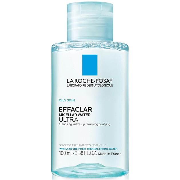 La Roche-Posay Effaclar Micellar Water Ultra Απαλό Νερό Καθαρισμού Προσώπου & Ματιών για το Λιπαρό Δέρμα σε Travel Size 100ml